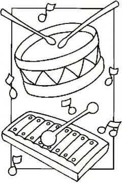 Trommel Xylofoon Muziek Muziekinstrumenten Thema