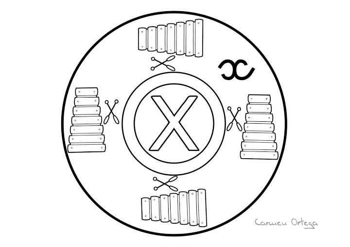 Mandala Xylofoon Abecedario Letras Del Abecedario Mandalas