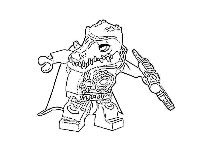 Lego Chima Coloring Pages Cragger Zpsb8daf919 Jpg 842 595 With