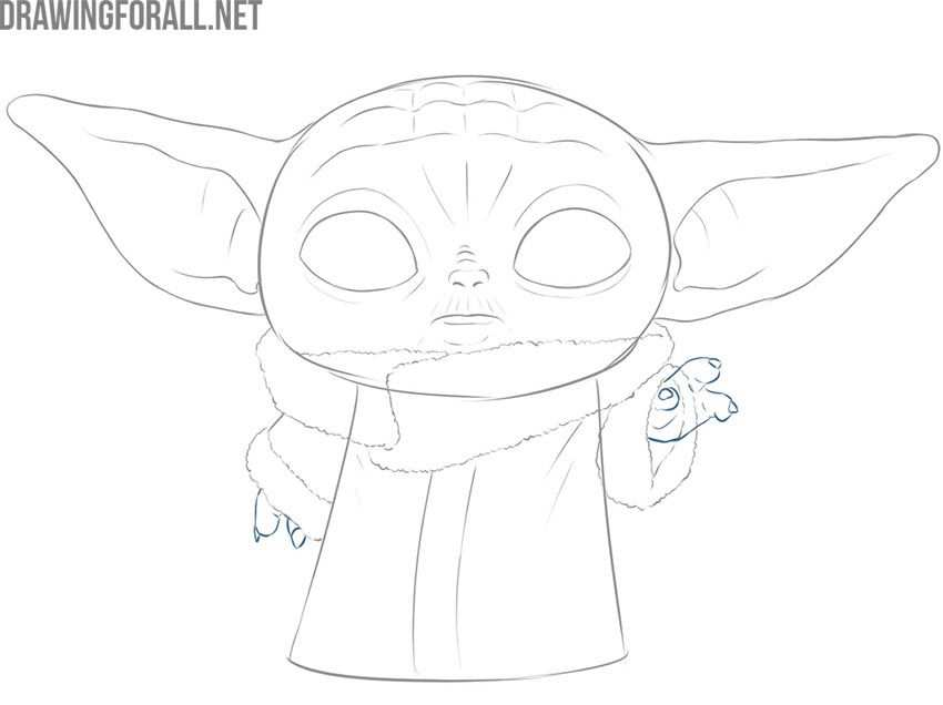 How To Draw Baby Yoda The Child In 2020 With Images Baby