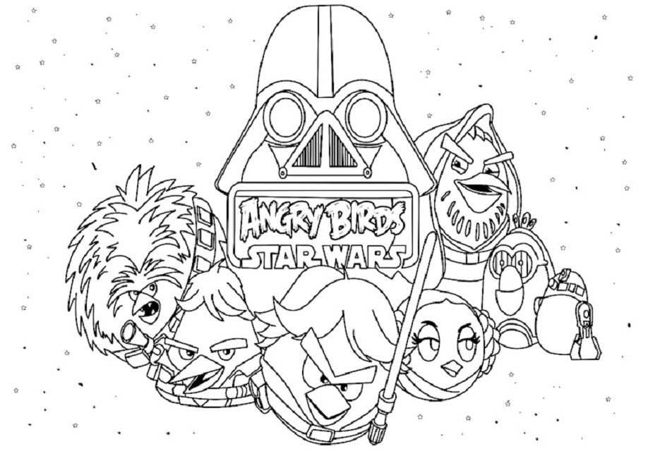 Star Wars Easter Coloring Pages