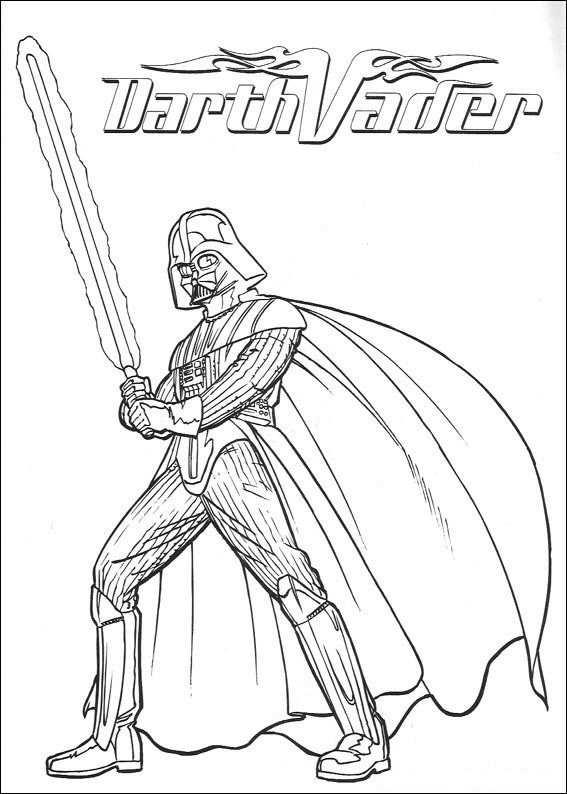 Coloring Page Star Wars Star Wars Kleurplaten Gratis