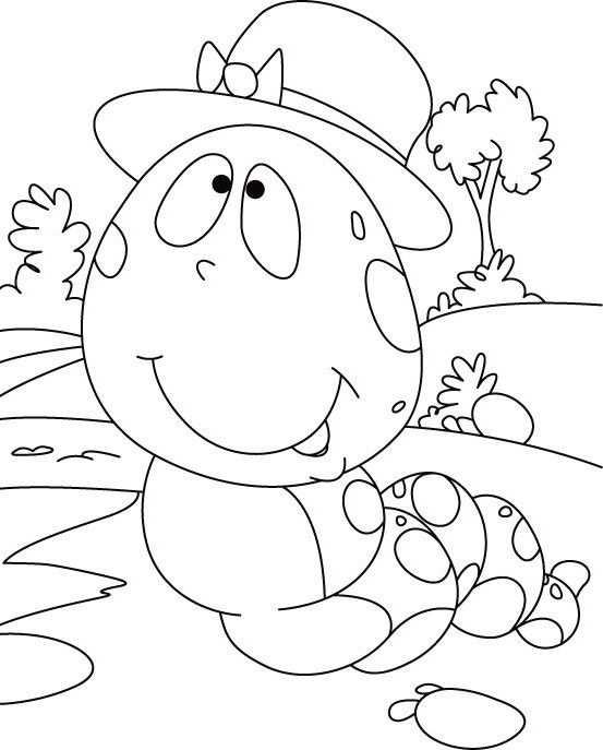 Caterpillar Coloring Book Pages Desenhos Para Colorir Desenhos