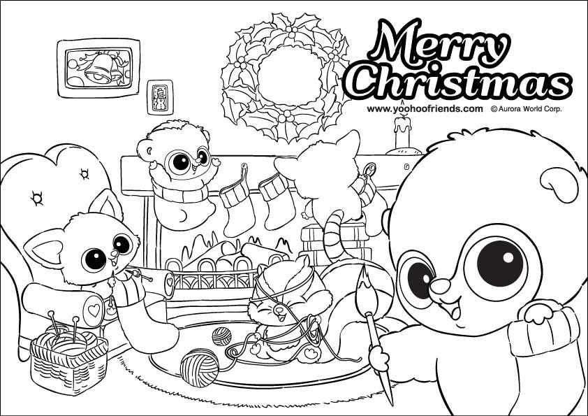 Yoohoo Friends Colouring Pages Page 2 With Images Coloring