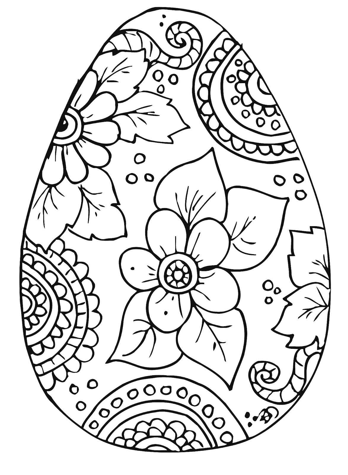 B D Designs Free Coloring Page Easter Kleurplaat Pasen