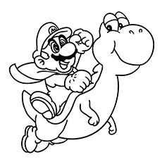 Top 20 Free Printable Super Mario Coloring Pages Online Kleurplaten