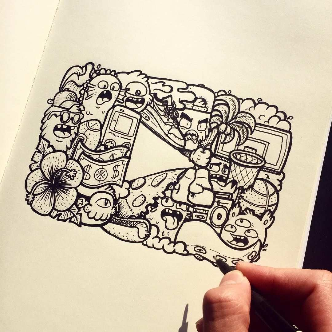 Inking Done On The Youtube Logo I Decided To Make This