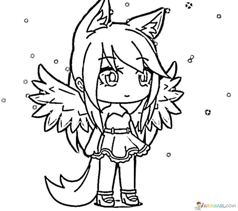 Gacha Life Coloring Pages Unique Collection Print For Free With