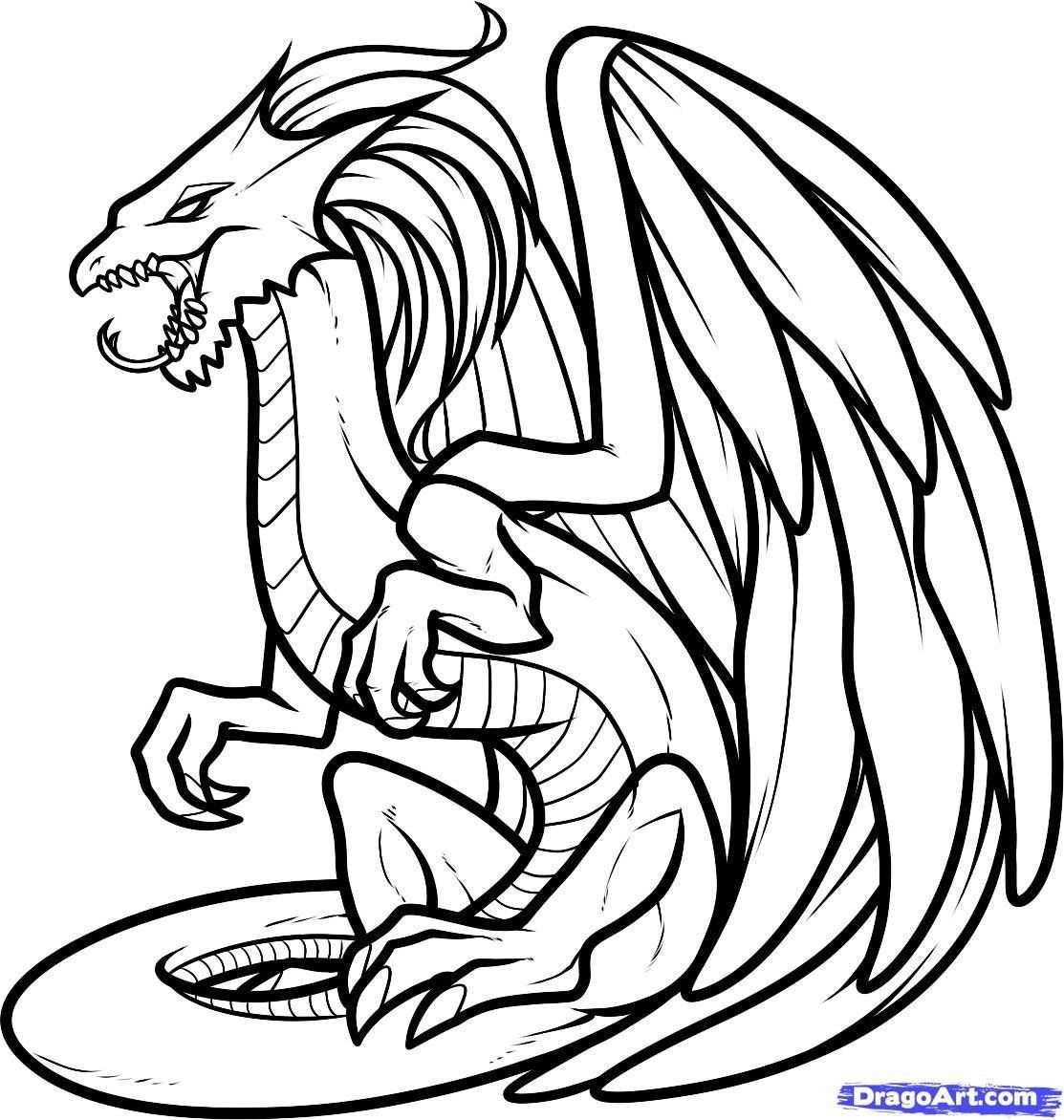 Baby Dragon Coloring Pages Beautiful Realistic Dragon Coloring