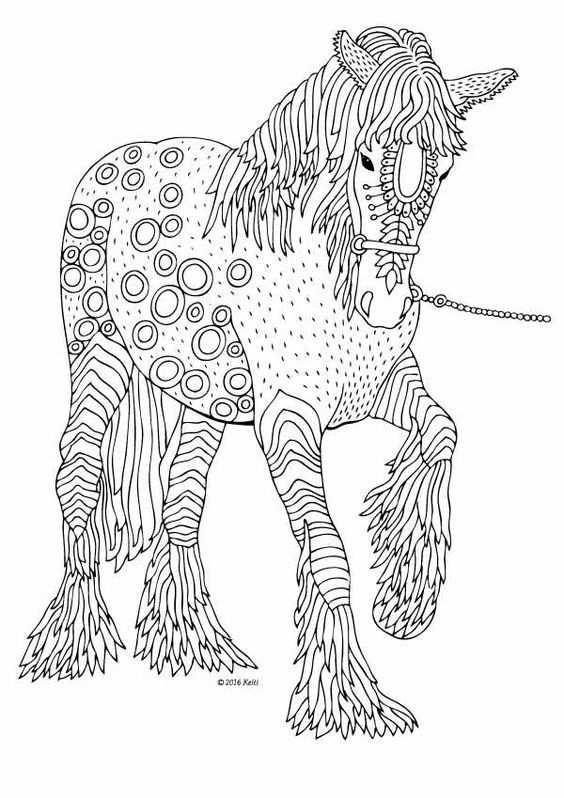 Pin Van Barbara Op Coloring Horse Zebra Met Afbeeldingen