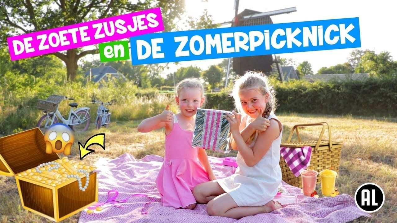 De Zoete Zusjes En De Zomer Picknick Opzoek Naar De Schat A