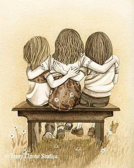 Three Sisters Zussen Zusjes Zus Citaten