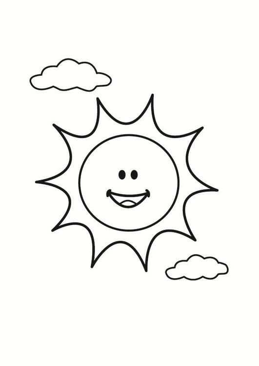 Pin Van Josh Keaveney Op Sun Coloring Pages Kleurplaten