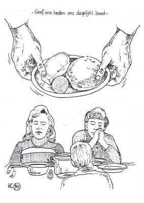 Hc 50 Dagelijks Brood Kleurplaat Bij De Bespreking Van Hc Zondag