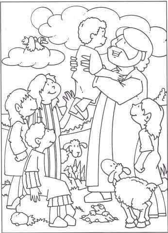 Jezus Houd Van Kinderen Matteus 19 13 15 Zondagsschool Knutselen