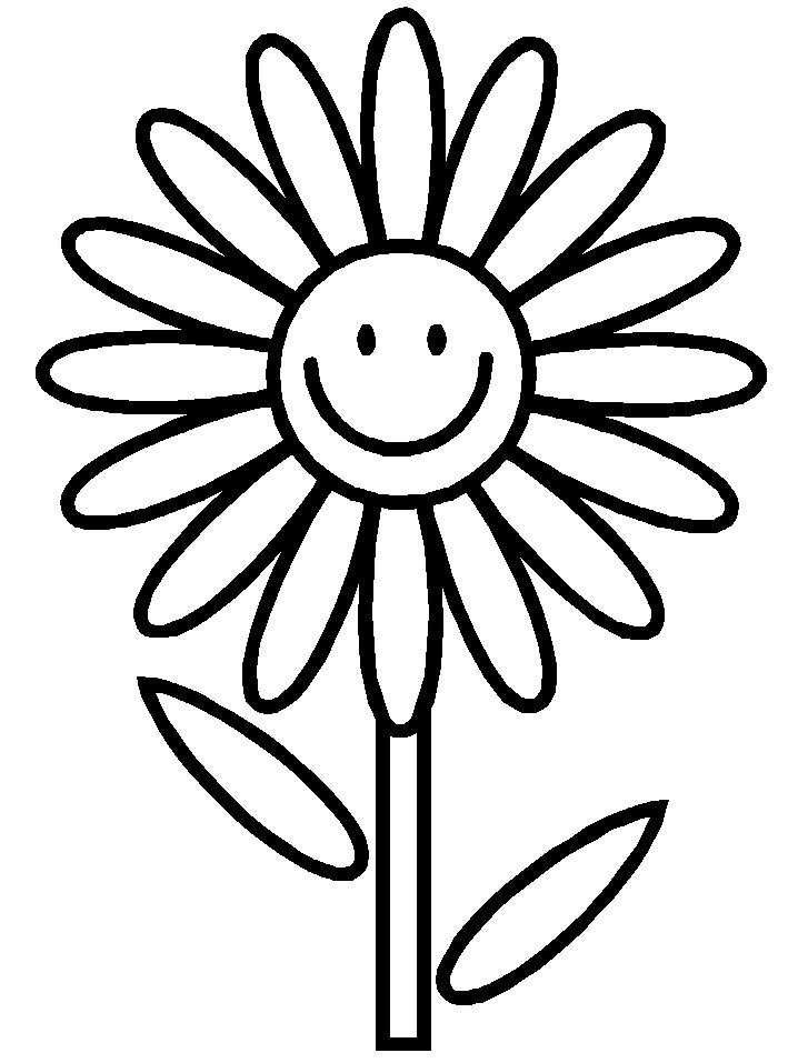 Bloemen Kleurplaat Google Zoeken Met Afbeeldingen