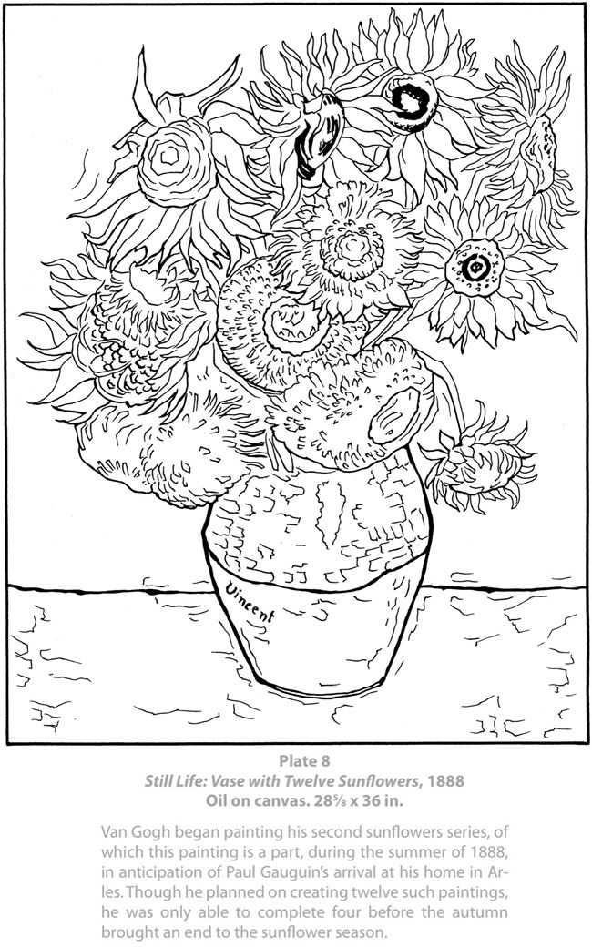 Van Gogh Met Afbeeldingen Kleurplaten Disney Kleurplaten