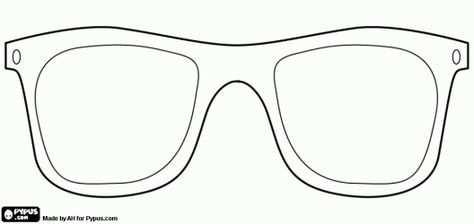 Brillen Te Verhullen Kleurplaat Met Afbeeldingen Kleurplaten