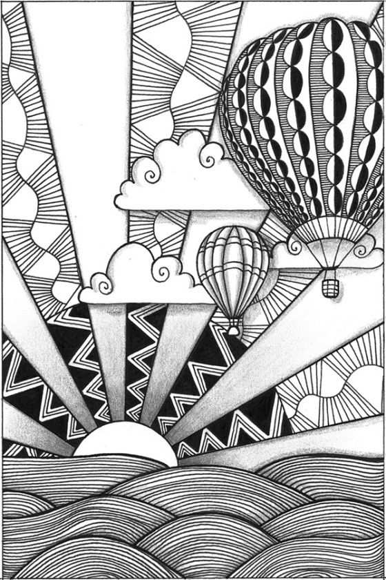 Zia 3 Of 4 Hot Air Balloons Awesome Way Of Teaching Foreground