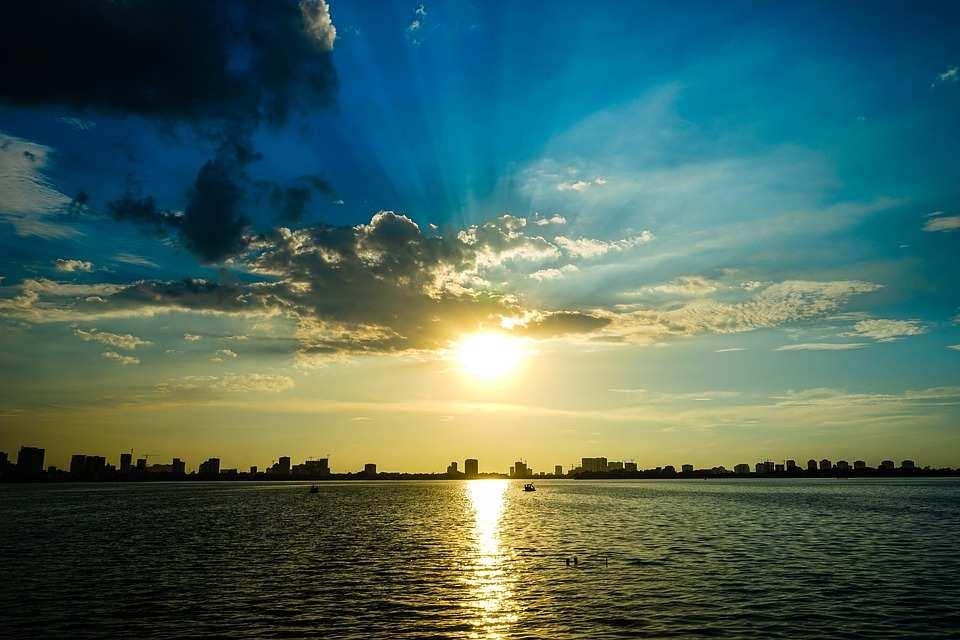 Water De Zon Zee Gratis Foto Op Pixabay