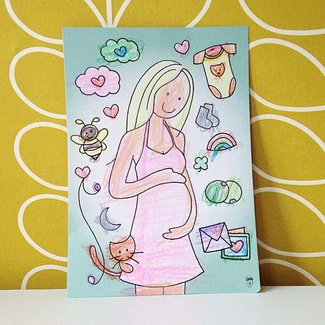 Kleurplaat Zwanger Wendy De Boer Zwanger Pregnant Coloring