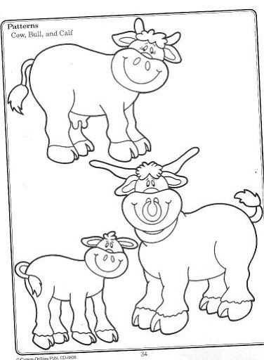 Koe Met Stier En Kalfje Met Afbeeldingen Boerderijdieren