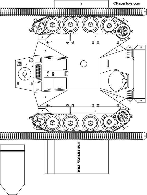 Paper Tank Http Papertoys Com Tank Htm Paper Tanks Paper