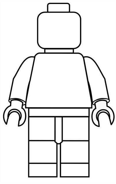 Afbeeldingsresultaat Voor Lego Kleurplaat Grote Lego Man Met