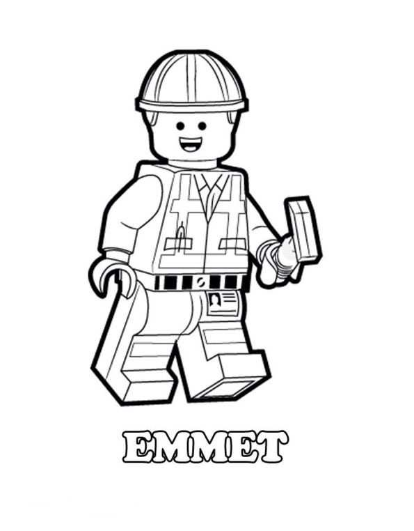 Coloring Page Lego Movie Lego Movie Lego Movie Coloring Pages