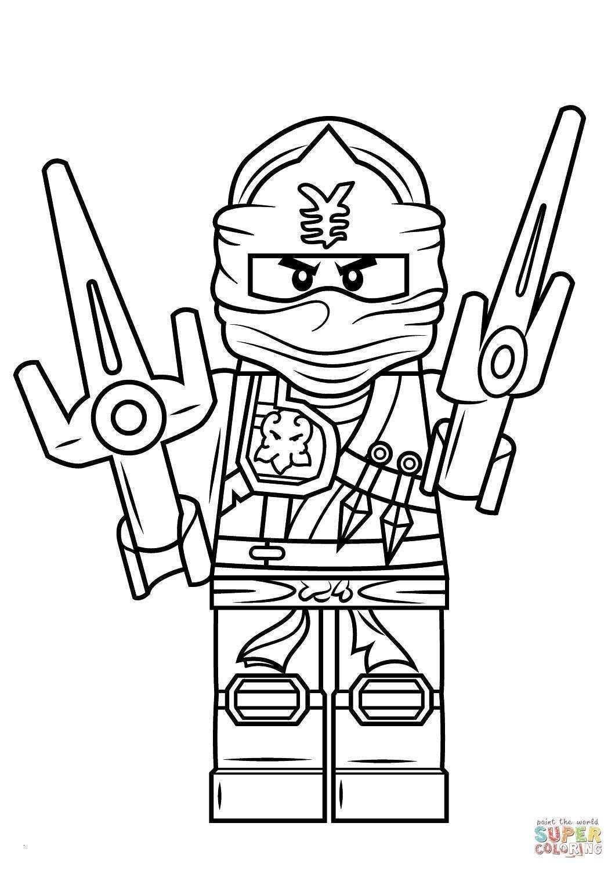 lego ninjago kleurplaat lloyd