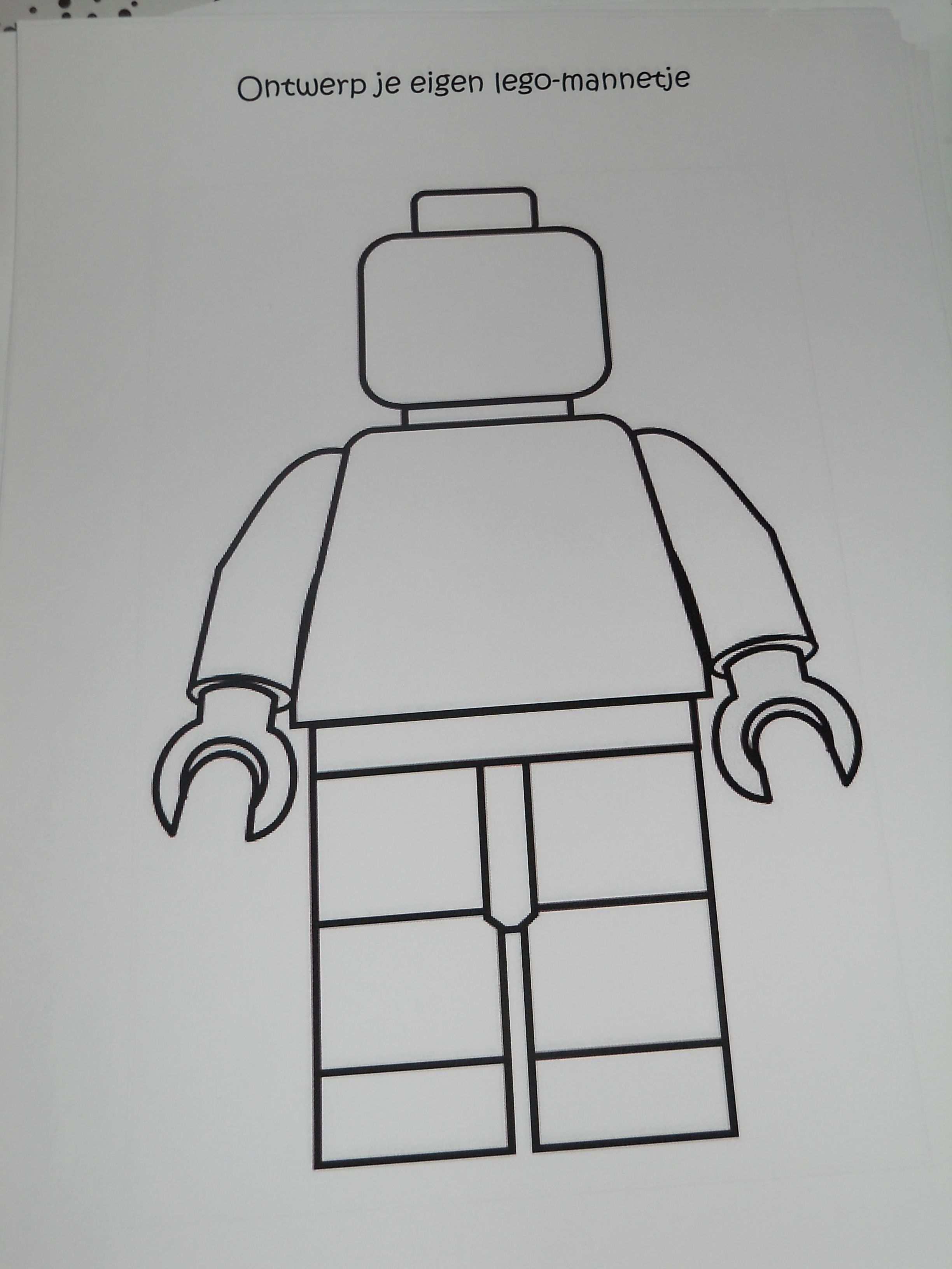 Ontwerp Je Eigen Lego Mannetje Holiday Activities Fun