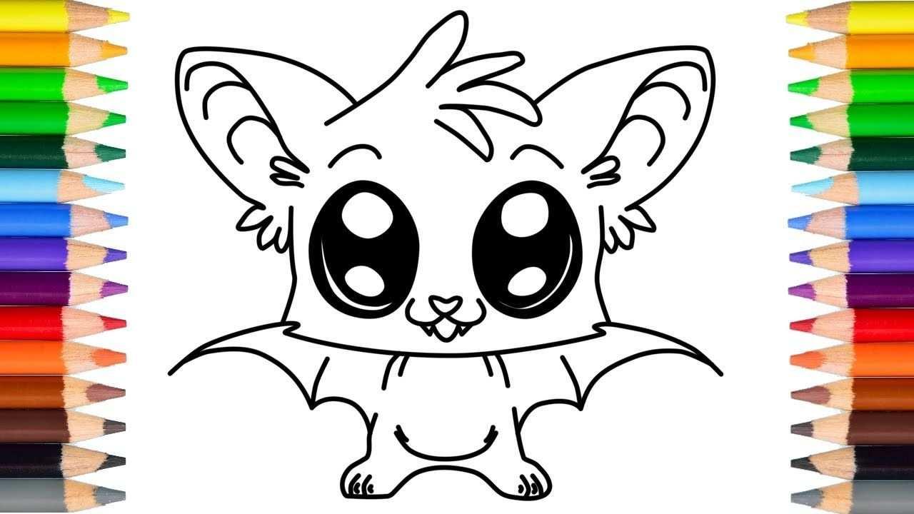 Schattige Halloween Vleermuis Tekenen Voor Kinderen Youtube