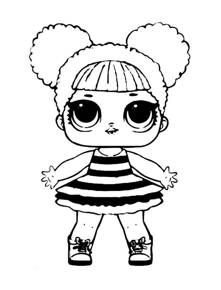 Queen Bee Lol Coloring Pages Com Imagens Desenhos Animados