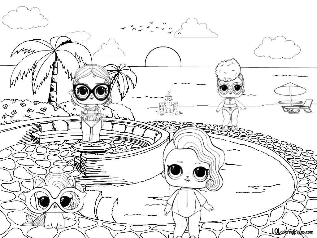 Lol Group Coloring Pages With Images Coloring Pages Cartoon