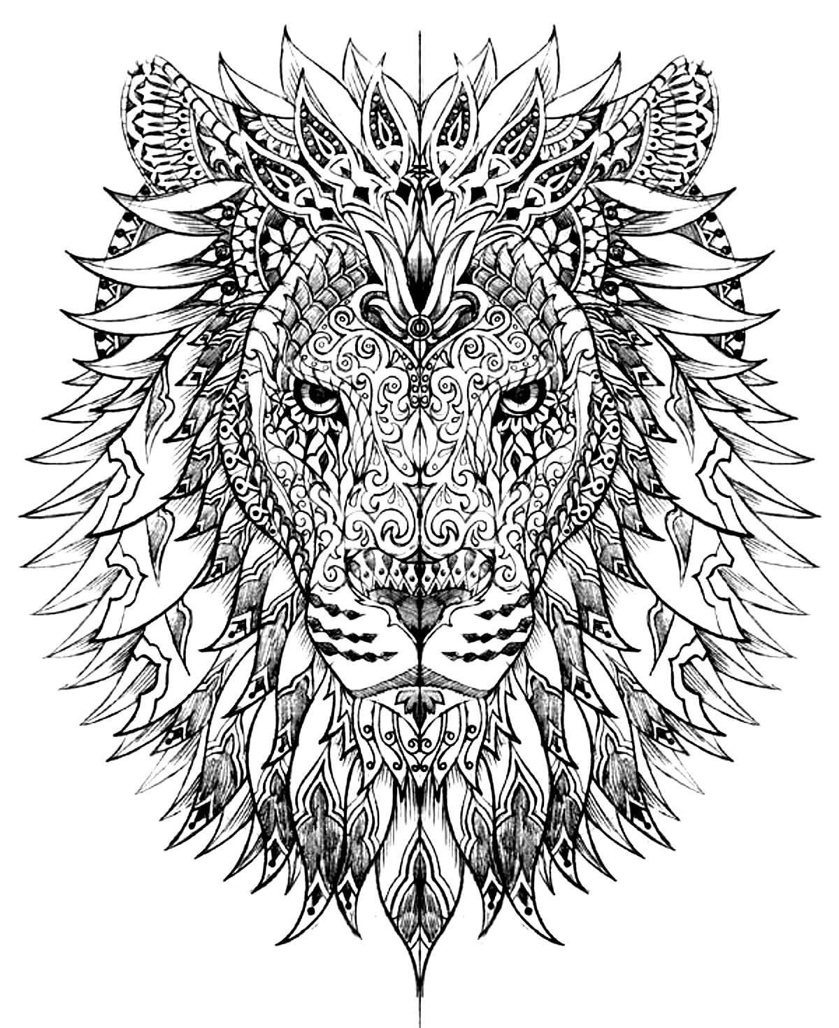 Master Pieces Coloring Pages For Adults Coloring Leonard De