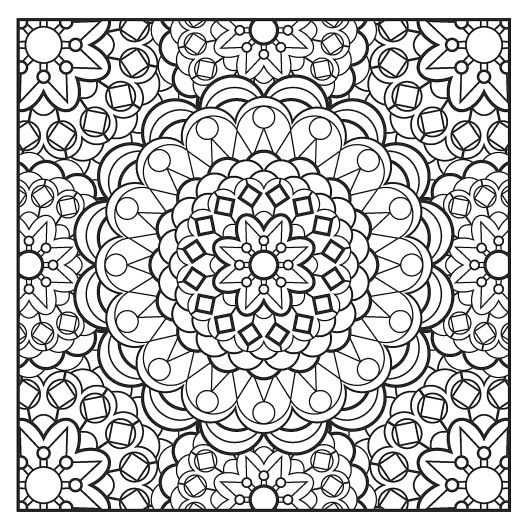Rustgevende Mandala S Google Zoeken Kleurplaten Mandala