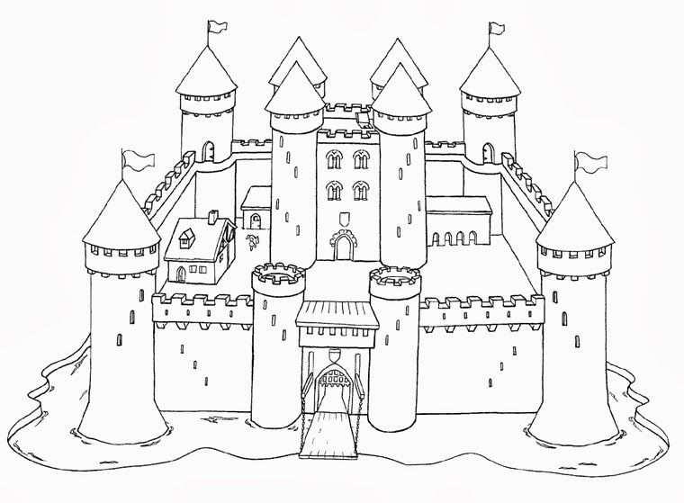 Kasteel Met Afbeeldingen Ridders Middeleeuws Kasteel Sprookjes
