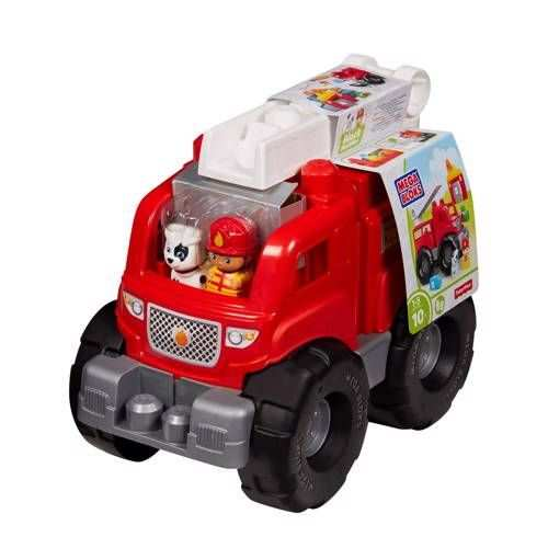 Fisher Price Mega Bloks Storytelling Brandweerauto