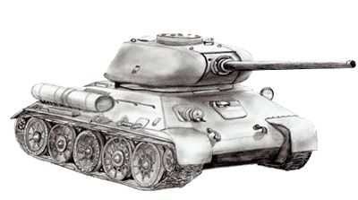 Drawing An Army Tank Step By Step Leger Tekenen