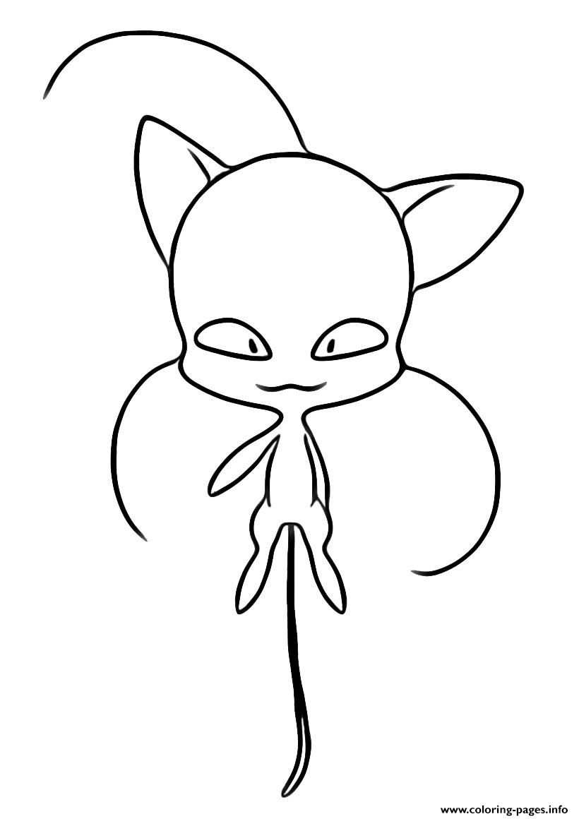 Coloring Pages Info Multfilmy Miraculous Ladybug Printable