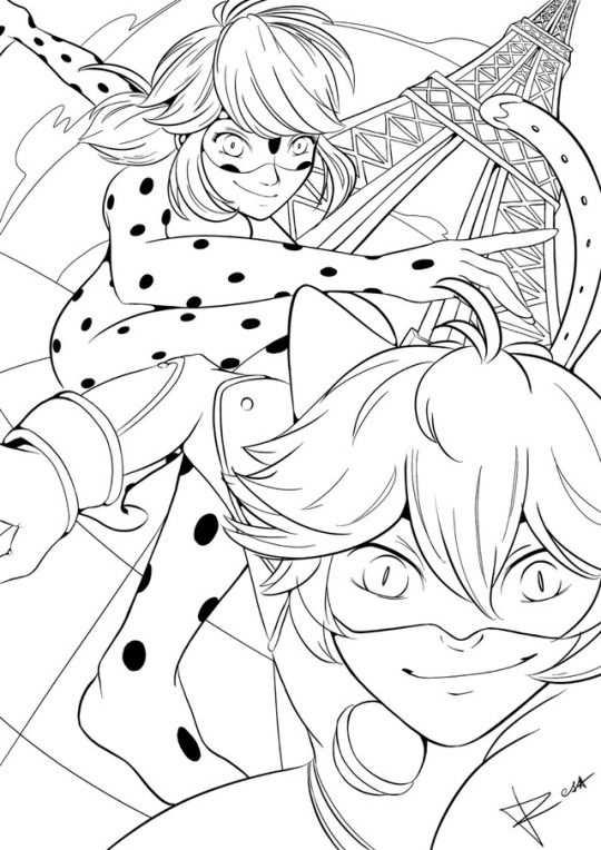 Miraculous Ladybug Tumblr With Images Ladybug Coloring Page