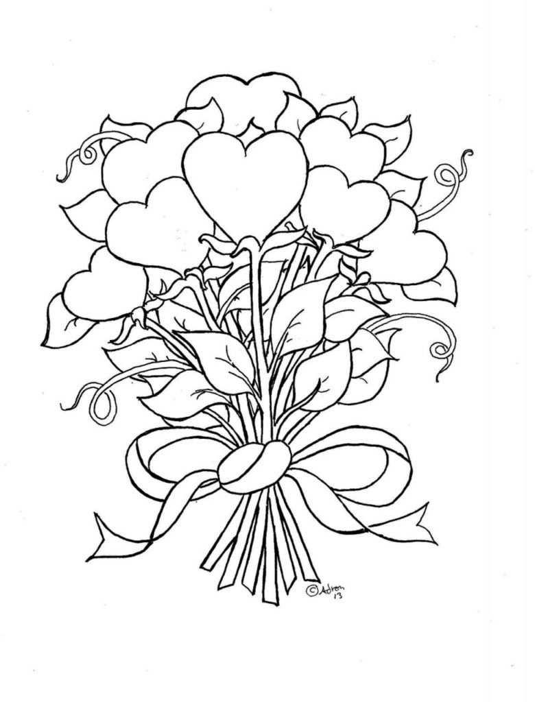 Heart Coloring Pages Kleurplaten Kleurboek En Valentijnen
