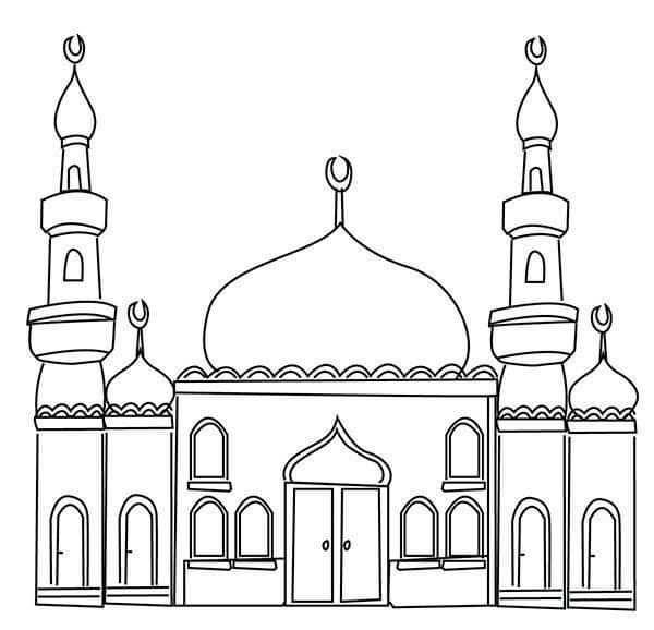 Pin Van Dalilahusicic Op Nezz In 2020 Ramadan Knutselen Moskee