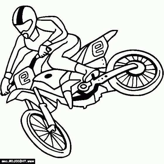 The Awesome Stunning Dirt Bike Coloring Pages Http Coloring