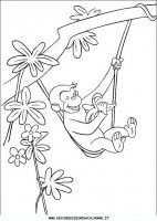 Cartoni Animati Curioso Come George George Kleurplaten