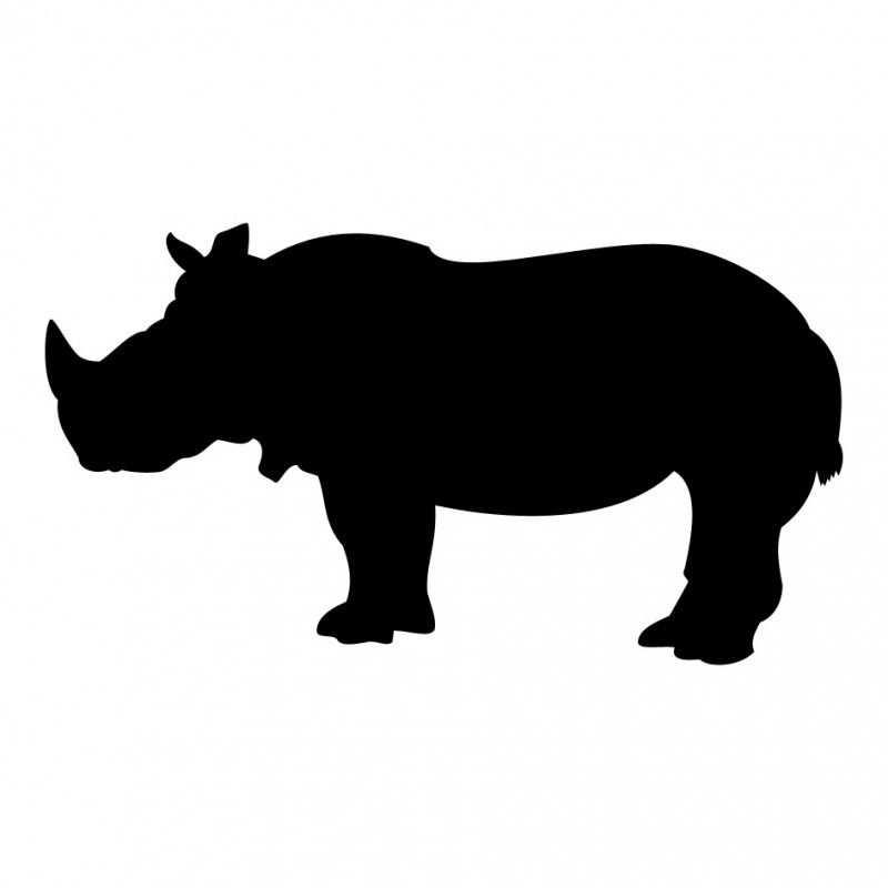 Neushoorn Nijlpaard