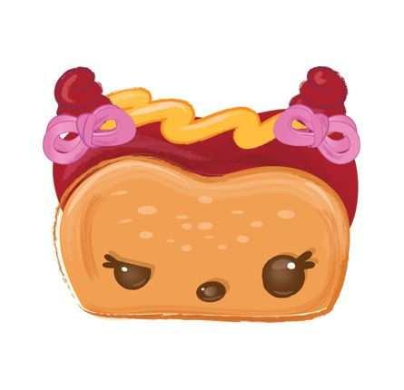 Haley Hot Dog Character Num Noms Met Afbeeldingen Verjaardag