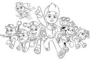 Paw Patrol Coloring Pages Kids Sketch Template Kleurplaten Panter