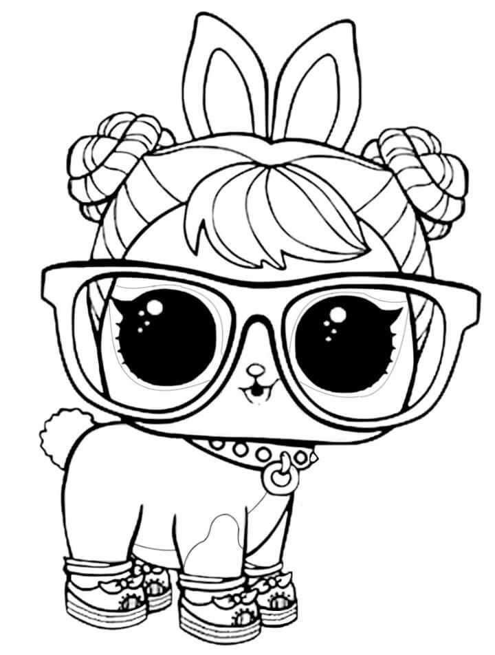 15 Free Printable Lol Surprise Pet Coloring Pages In 2020