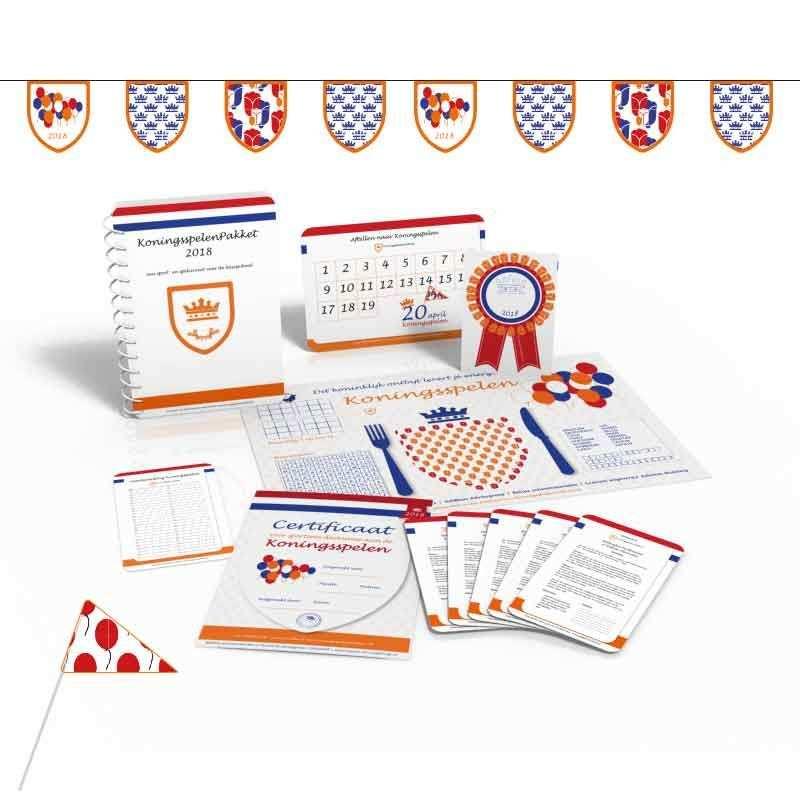 Reserveer Het Gratis Koningsspelenpakket 2020 Spellen Prints En